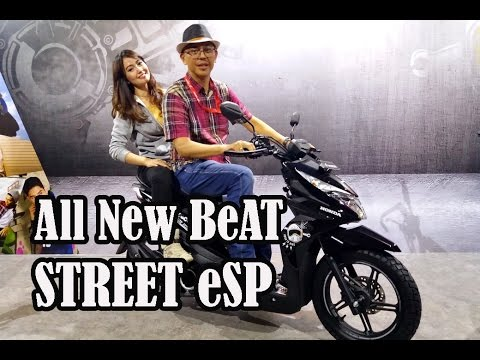 All New Honda BeAT STREET eSP