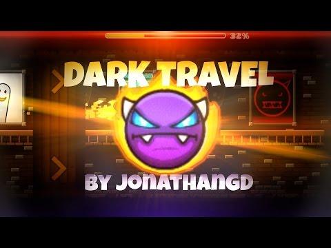 THE MOST EPICY XXXL LEVEL IN GEOMETRY DASH - TRAVELING ERA!   Dark Travel - by JonathanGD   CastriX