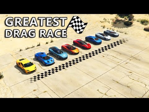 GTA V - Greatest Drag Race