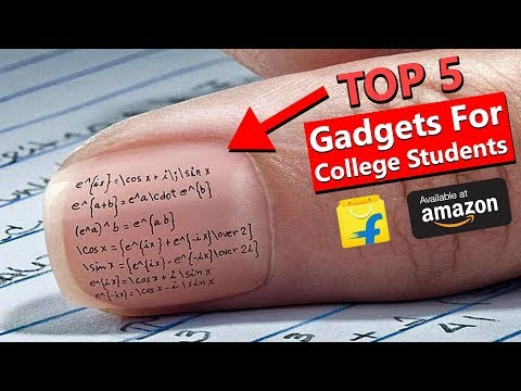 5 GADGETS Every COLLEGE STUDENTS Must Have in 2018✍FAST Studying Gadgets for EXAM & PROJECT⌛WatchNow