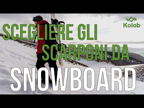 Scegliere gli scarponi da snowboard ideali