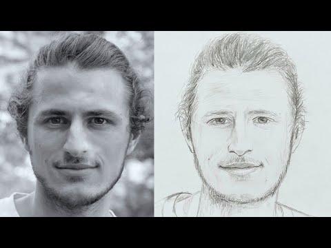 Gesichter (Porträts) zeichnen für Fortgeschrittene ab 10 Jahren