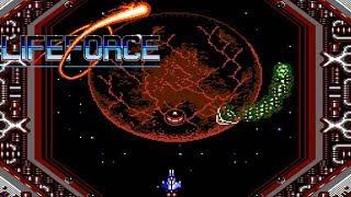 Life Force (NES) // All Bosses