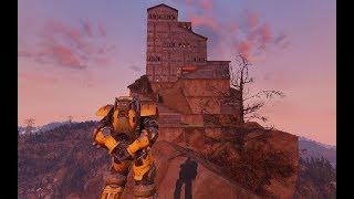 Onyx Nightshade Meets Fallout 76 - Seneca Rocks CAMP Build