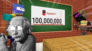 MONSTER SCHOOL CELEBRATING 100M SUBSCRIBER - Minecraft Animation