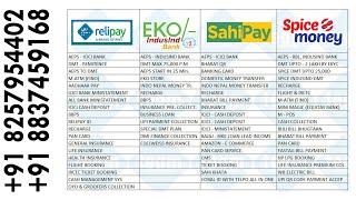 Live With Retailer # RNFI, SPICE MONEY, SAHIPAY, EKO/-