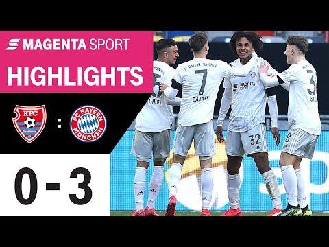 Юрдинген - Бавария II 0:3. Видеообзор матча 26.01.2020. Видео голов и опасных моментов игры