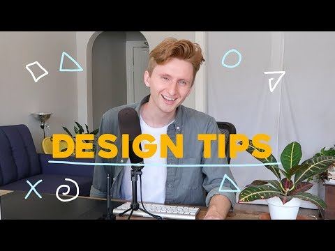The 4 Best Design Tips I learned This Weeks!