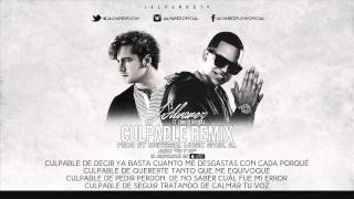 David Bisbal Ft. J Alvarez - Culpable (Remix) (Letra)