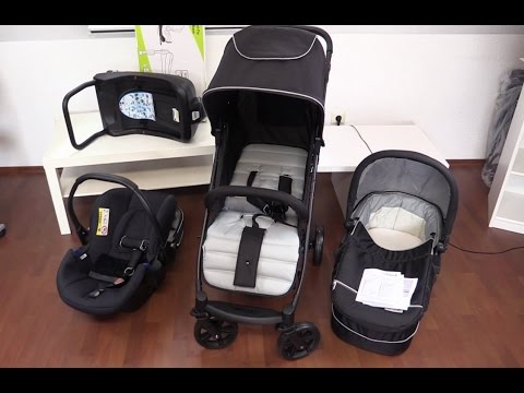 Kinderwagen - Hauck 149522 Rapid 4 Plus Trioset mit Iso-Fix