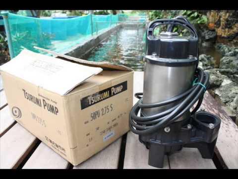 Tham khảo cách nhận biết máy bơm chìm nước thải tsurumi