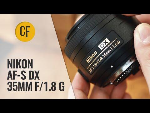 Nikon AF-S DX 35mm f/1.8 G lens review with samples