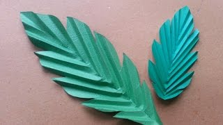 How To Make Fun Paper Leaves - DIY Crafts Tutorial - Guidecentral