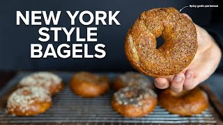 The Best New York Style Bagels At Home