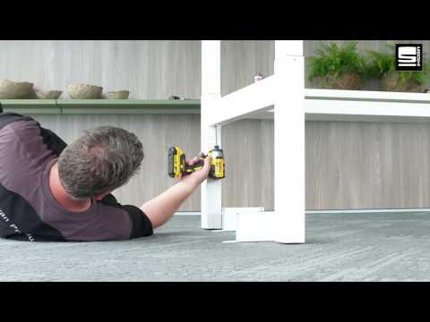 SWAN Flex 3 EL bench montage koppelstuk