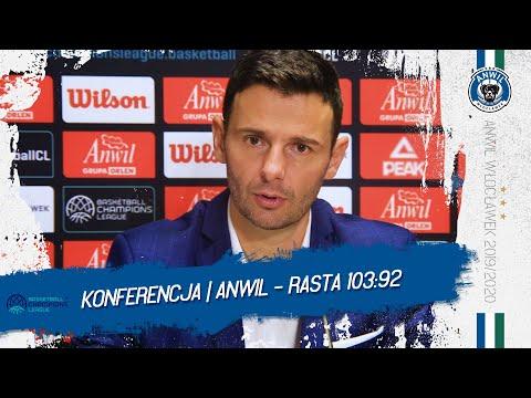 Konferencja prasowa   Anwil Włocławek - RASTA Vechta 103:92