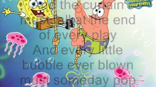 Spongebob Squarepants: The Bubble Song (Lyrics)