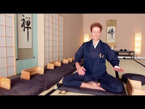 Richtig sitzen in der Meditation