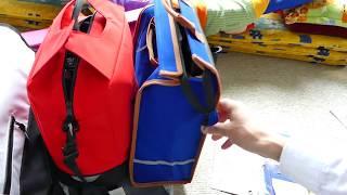 Fahrrad-Taschen f. Gepäckträger_Kaufhilfe 2v2_Vergleich Lidl Aldi & Co