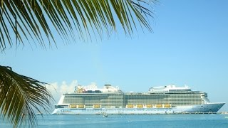 preview picture of video 'Quantum of the Seas in Labadee, Haiti'