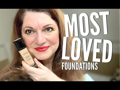 My most loved foundations of 2018