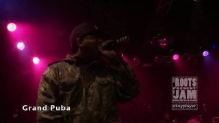 Grand Puba of Brand Nubian / The Roots Present The Jam / 4.21.09