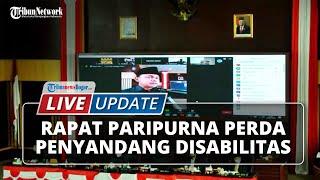 LIVE UPDATE Rapat Paripurna DPRD Kota Bogor Terkait Perda Penyandang Disabilitas