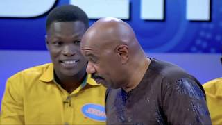 STEVE HARVEY VS AFRICAN ACCENTS    FAMILY FEUD AFRICA