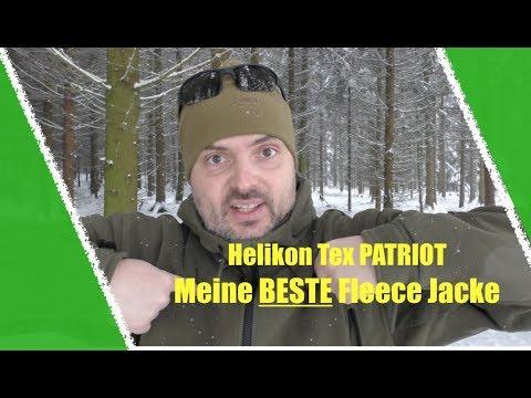 Meine LIEBSTE Fleece Jacke: Helikon-Tex Patriot