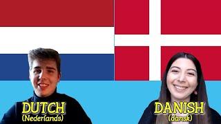 Similarities Between Dutch And Danish