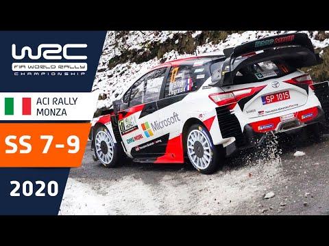 WRC第7戦ラリー・モンツァ SS7-9のハイライト動画