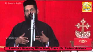 Bible Class About Baptism By Fr. Zachariah Ninan (Zakher)