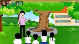 สื่อการเรียนการสอน คำที่ไม่ออกเสียงพยัญชนะและสระป.6ภาษาไทย