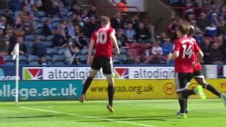 HTTV the goals from htafcs 41 home defeat to FulhamFC are now