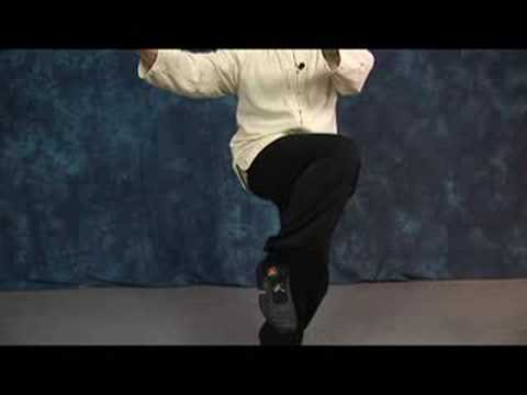 Tai Chi Movements : Tai Chi: Lotus Sweep Kick