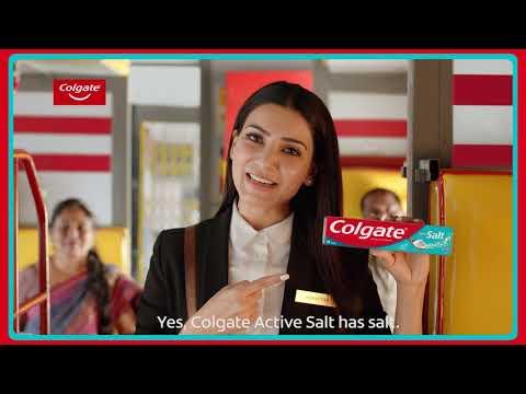 Colgate Active Salt - Samantha Akkineni shares uppin gynanam (Tamil)