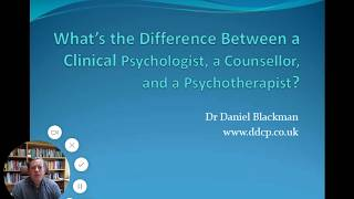 What's the Difference Between a Clinical Psychologist, Counsellor, and Psychotherapist?