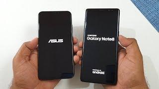 Asus Zenfone 5Z vs Samsung Galaxy Note 8 Speed Test !