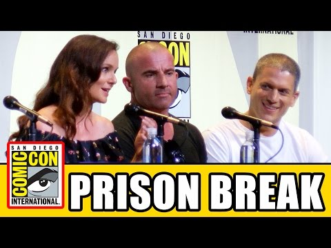 PRISON BREAK Comic Con 2016 Panel - Season 5, Wentworth Miller, Dominic Purcell, Sarah Wayne Callies