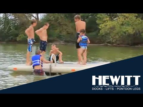 Hewitt Otter Island Swim Raft