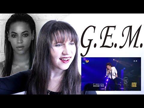 GUYS REACT TO Hua Chenyu / G E M  'Light Year Away' (Singer