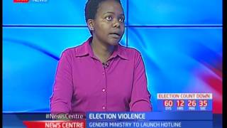 News Centre: Election Violence- Gender ministry to launch hotline