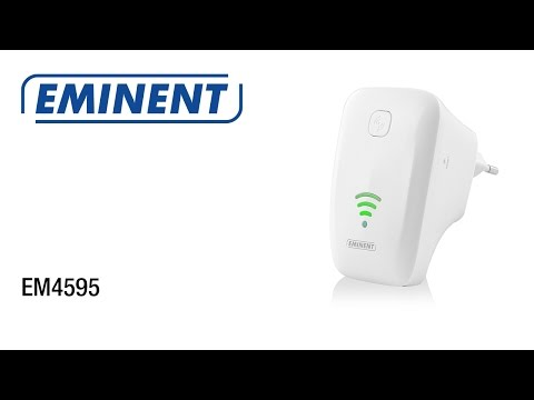 EM4595 Universele WiFi Repeater met WPS