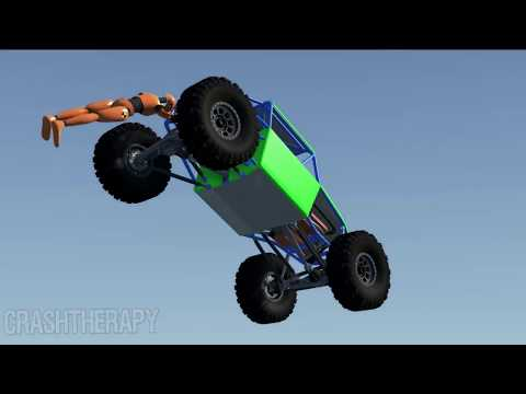CRAZY High Speed Jumps #32 - BeamNG Drive | CrashTherapy