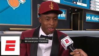 Collin Sexton drafted No. 8 by Cavaliers, then tells LeBron James to stay in free agency | ESPN