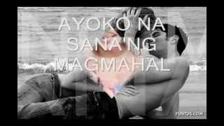 Ayoko Na Sana by ARIEL RIVERA WITH LYRICS