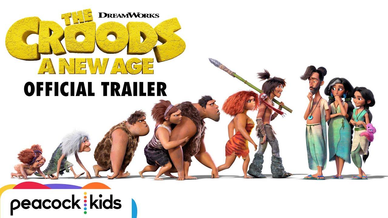 Trailer för Croodarna 2: En ny tid