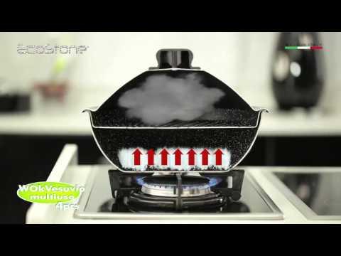 Vesuvio wok by Silex Italia Company