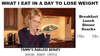How I Eat to Lose Weight | Keep it Clean | #weightandmenopause