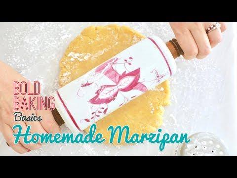 Easy Homemade Marzipan (Almond Paste) | Gemma's Bold Baking Basics